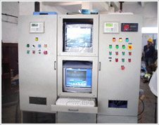 Industrial electrical control panel customized multi axis for Electric motor test panel